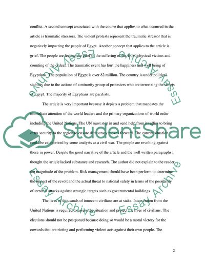 News Reflection Paper Essay Example Topics And Well Written Essays 750 Words