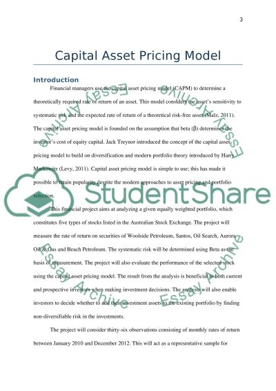Group Research Project Essay example