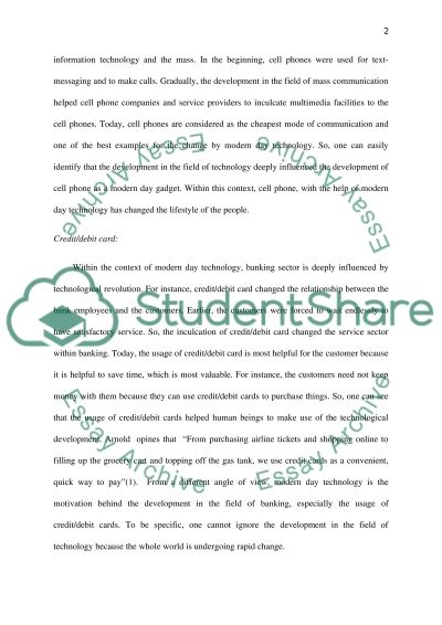 essay technology has changed world Examples of technology essay topics,  technology essays  what positive changes has technology brought to the contemporary world.