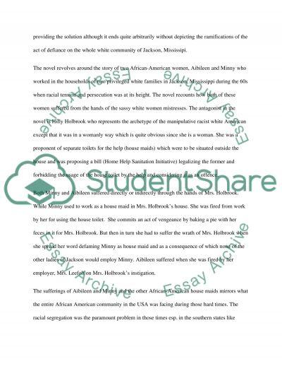 The Help Film/Book Essay