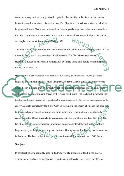 Jute Material essay example