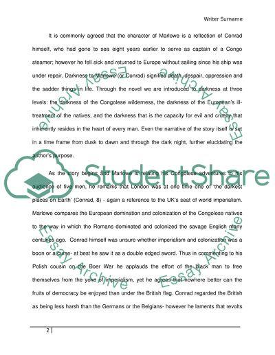 darkness essay