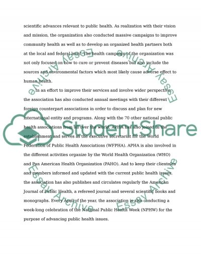 Historical Development of Professional Associations essay example