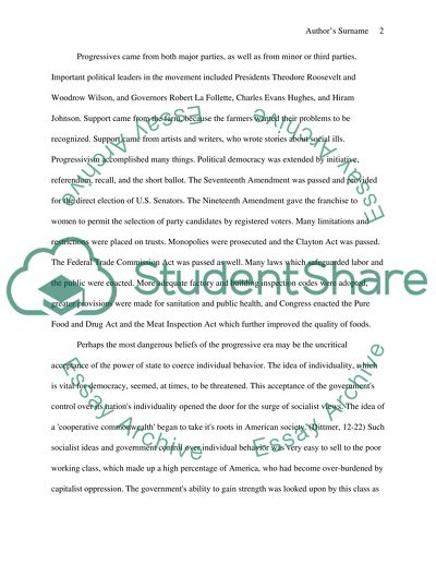 How To Learn English Essay The Progressive Era Thesis Example For Compare And Contrast Essay also Example Of Essay With Thesis Statement The Progressive Era Essay Example  Topics And Well Written Essays  Topics For A Proposal Essay