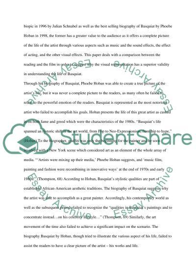 Basquiat essay example