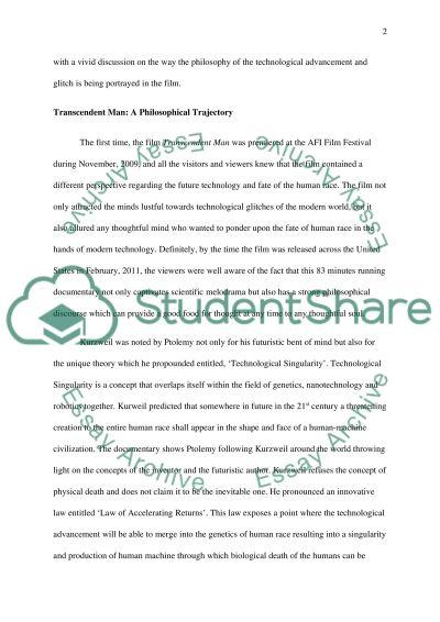 Technological Singularity essay example