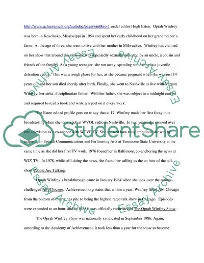 Research papers on oprah popular blog post writer services au