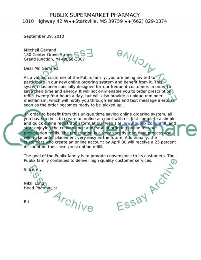 Block letter syle with open punctuation essay example