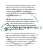 Inclusion special needs Education Research Paper example