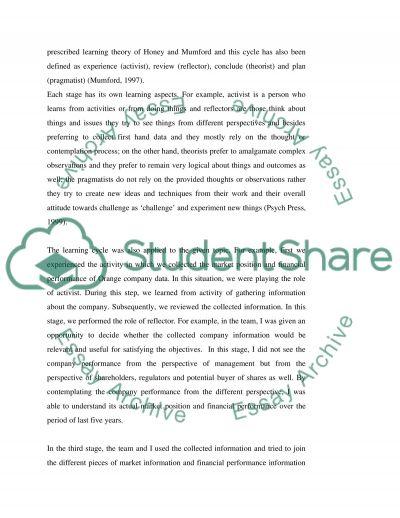 Teamwork essays