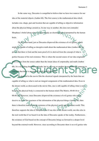 dream world essay