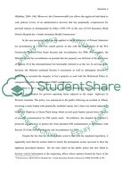 Administrative Law Essay example