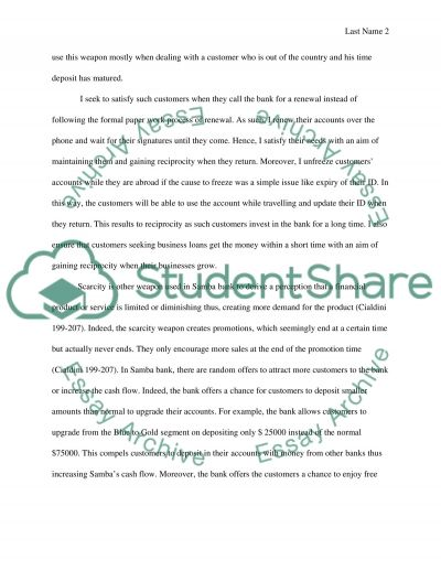 Online Assessment Essay example