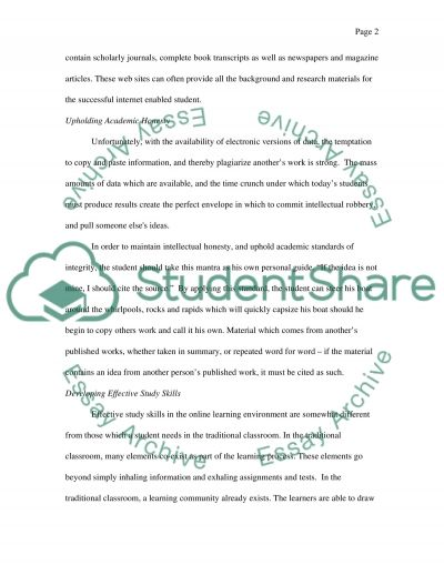 Student Survival Guide essay example
