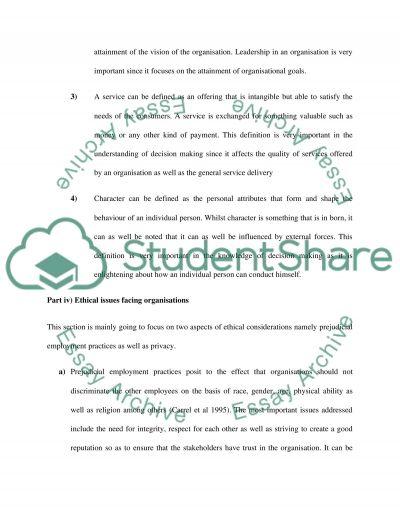 OLS essay example