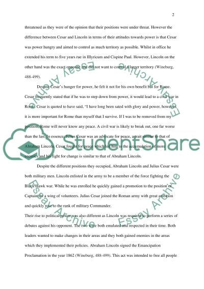 Julius Caesar And Abraham Lincoln Essay Example  Topics And Well  Julius Caesar And Abraham Lincoln Essay Example