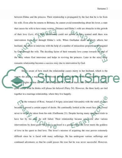 marie de france research paper An academic research paper exploring the feminist elements in marie de france's lais.