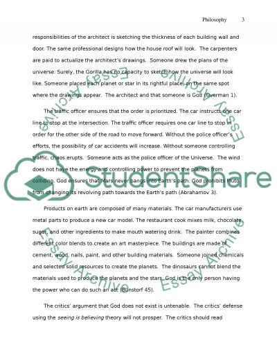 argument Admission/Application Essay example