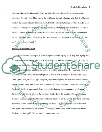 a streetcar d desire essay example topics and well written  a streetcar d desire essay example