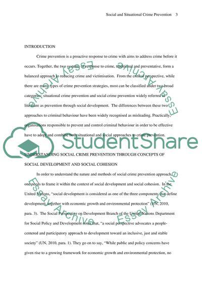 social development essay