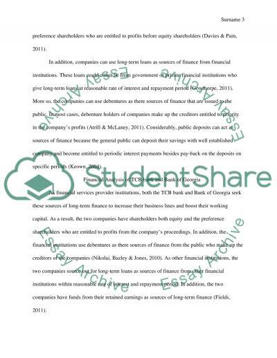 Annual Rreport Analysis essay example