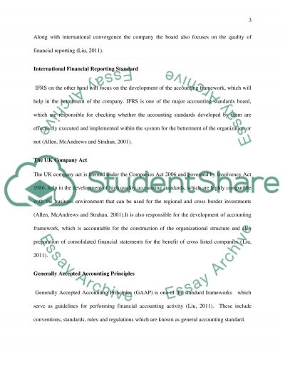 Assessment of recent developments in financial reporting Essay example
