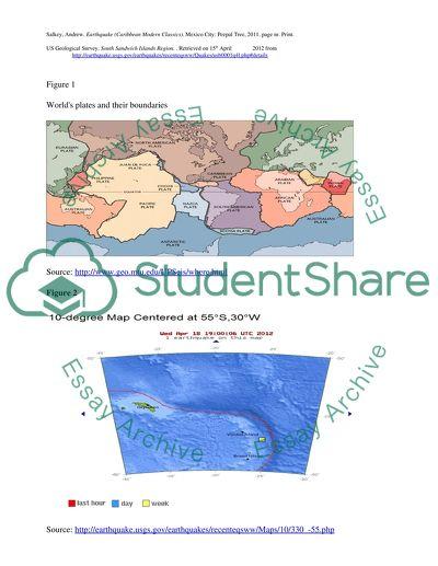 Recent Earthquake Analysis