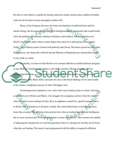 Essay Papers Examples  Narrative Essay Example High School also High School Memories Essay Science Fiction Technology And Our Modern World Essay   Argumentative Essay Thesis Statement