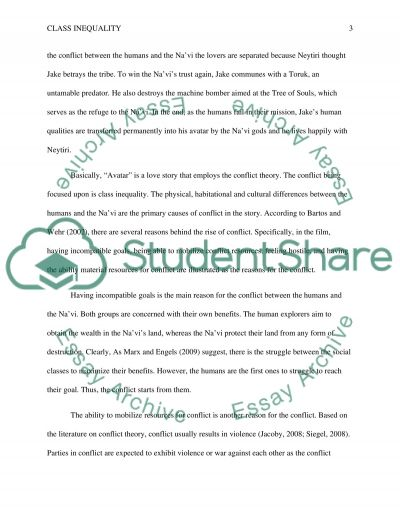 class inequality in avatar essay example topics and well related essays