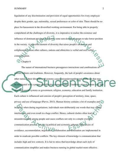 Business Cycle Essay Summary  Understanding Cultural Diversity In Todays Complex World Sample Essay English also Japanese Essay Paper Summary  Understanding Cultural Diversity In Todays Complex World  Business Etiquette Essay