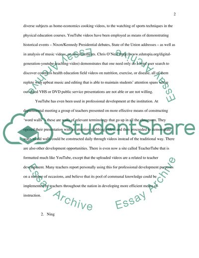 Infusing Technology in the Classroom