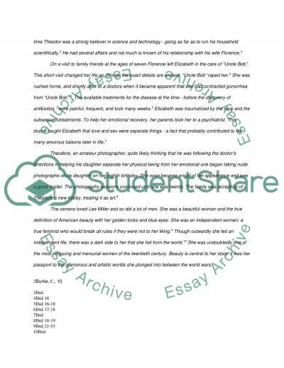Lee Miller essay example