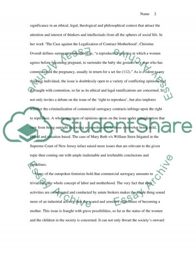 Ethics, Genetics and Reproduction Philosophy essay example