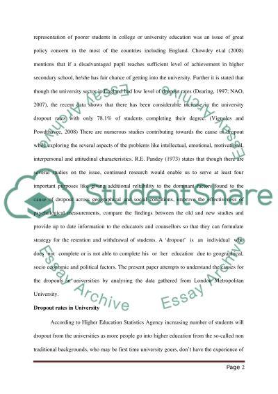 University dropout