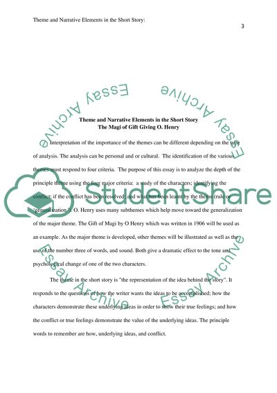 Theme And Narrative Elements In The Short Story Essay   Theme And Narrative Elements In The Short Story Teaching Essay Writing High School also Business Plan Writing Companies In South Africa  Proposal Essay Ideas