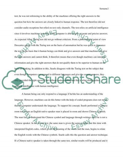 Reading report essay example