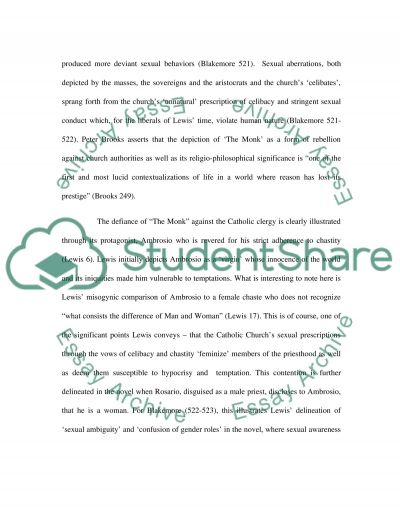 English Romantic Literature essay example