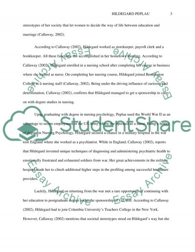 The Road to the Advancement of Professional Nursing essay example