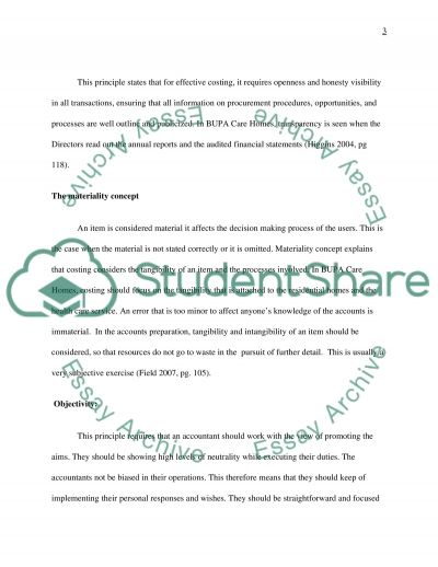 Managing Financial Resources in Health and Social Care essay example