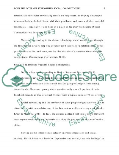 connections essay examples