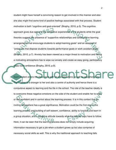 Class room management: Two case studies