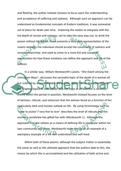Generalized anxiety disorder essay outline