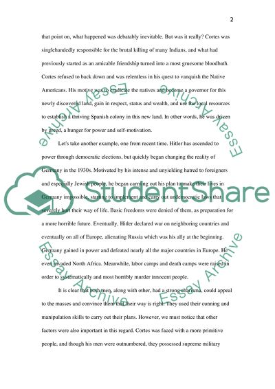 Historiography Essay Example | Topics and Well Written Essays - 500
