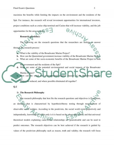 Final exam case studys answers essay example