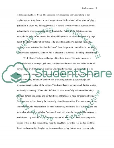 Compare Themes and Characters in Stand by Me and Two Short Stories essay example