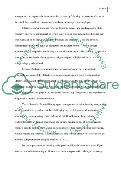 Business Organization and Management essay example