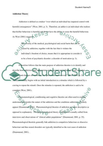 Relevance essay
