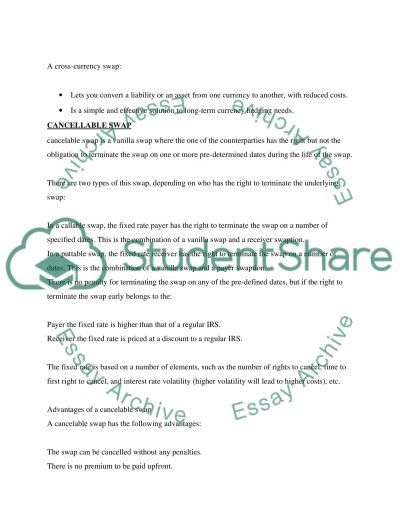 Research project Essay