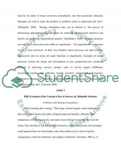 Strategic Analysis and Selection of Information Systems Essay essay example