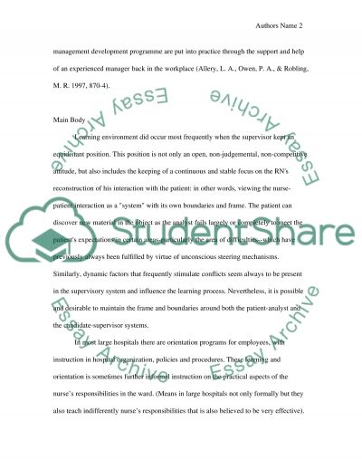 Learning in Clinical Practice essay example